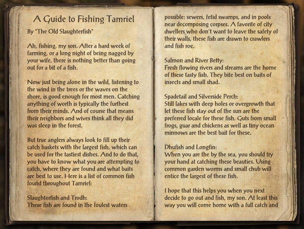 Jester 39 s trek elder scrolls online mini guide fishing for Fishing guide eso